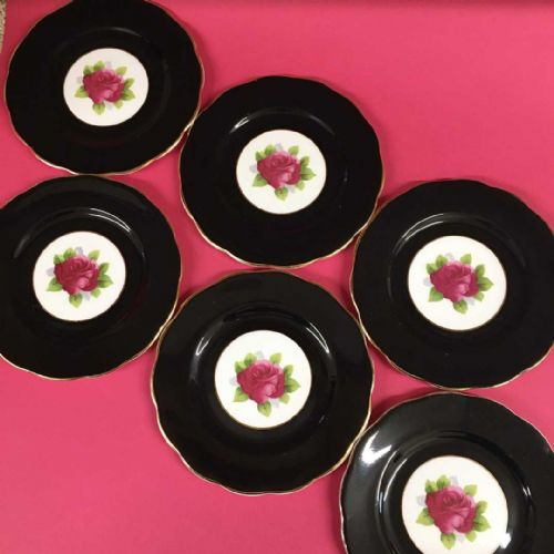 Royal Albert - Pink Rose - Tea Plate x 6
